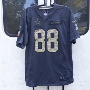Nike Cowboys Salute the Service Bryant Jersey XL